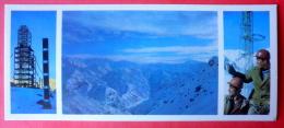 Geologists - Station Of Academy Of Sciences - Mountains - 1974 - Tajikistan USSR - Unused - Tadjikistan