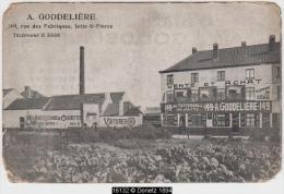 16132g A. GODDELIERE - Au Tattersall - Achat - Vente - Voitures - Charrettes - Rue Des Fabriques - Jette-St-Pierre - Jette