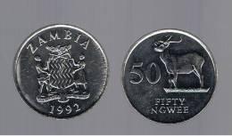 ZAMBIA - 50 Ngwee  1992 SC  KM30 - Zambia