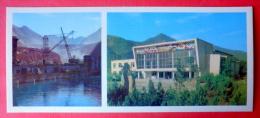 Nurek Dam - Crane - Palace Of Culture - 1974 - Tajikistan USSR - Unused - Tadjikistan