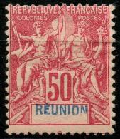 Reunion (1892) N 42 * (charniere)