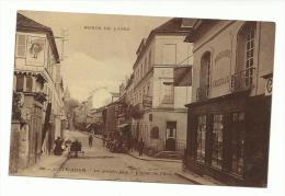 95 - CPA  - L'ISLE ADAM - La Grande Rue - L'hôtel De L'ecu  - ( VAL D'OISE ) - L'Isle Adam