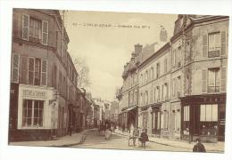 95 - CPA  - L'ISLE ADAM - Grande Rue N°1  - ( VAL D'OISE ) - L'Isle Adam