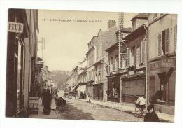 95 - CPA  - L'ISLE ADAM - Grande Rue N°2  - ( VAL D'OISE ) - L'Isle Adam
