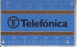 SPAIN(L&G), Telefonica(B 012), CN : 711D, Tirage 76000, 11/87, Mint