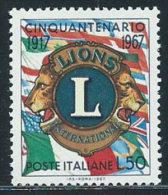 Italia 1967 Nuovo** - Lions - 1961-70:  Nuovi