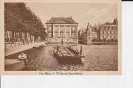 CPA DEN HAAG VIJVER EN MAURITSHUIS ANIMATION BAC - Den Haag ('s-Gravenhage)