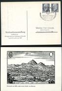 WARTBURG EISENACH DDR PP12 D2/003 Privat-Postkarte Sost. 1967  NGK 4,00 € - Castelli