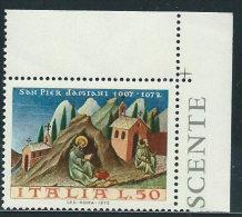Italia 1972 Nuovo** - S.Pier Damiani - 6. 1946-.. Repubblica