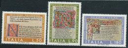 Italia 1972 Nuovo** - Divina Commedia - 6. 1946-.. Repubblica