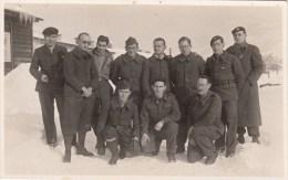 Carte Photo - Groupe De  Prisonniers De Guerre - Cachet Stalag - 1942 - Weltkrieg 1939-45