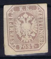 Österreich 1863 Mi Nr 29 MH/* , Signed/ Signé/signiert/ Approvato - Ungebraucht