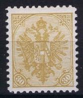 �sterreich  �sterreichisch- Bosnien und Herzegowina  Mi. 18 B  MH/* perfo 10,5