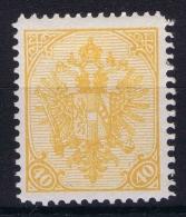 Österreichisch- Bosnien Und Herzegowina  Mi. 19 A   MH/* Perfo 12,5 - 1850-1918 Imperium