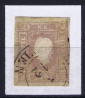 Österreich  1858 Mi Nr  17 Used - 1850-1918 Imperium