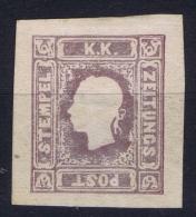 �sterreich  1858 Mi nr  17 not used (*)