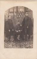 Carte Photo -  Soldats - Cachet F.A - Weltkrieg 1914-18