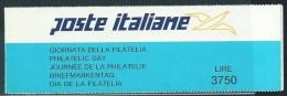 Italia 1992 Nuovo** - Giornata Filatelìa Libretto - 6. 1946-.. Repubblica