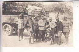 MILITÄR - LKW, Österreich 1.Weltkrieg, Photo-AK - Ausrüstung