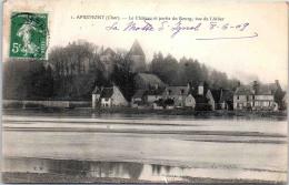 18 APREMONT - Le Château Et Une Partie Du Bourg - Autres Communes
