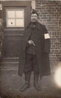 Carte Photo -    Prisonnier  De Guerre  - ( Prumen ) - Cachet - Weltkrieg 1914-18