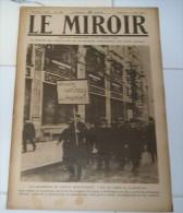 Le Miroir De La Guerre 1919 No 288-Paris Fête Victoire-Catastrophe Pont Fribourg-Bourreau De 40.000 Arméniens-Acrobaties - Riviste & Giornali