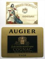 COGNAC - AUGIER -  2 étiquettes  /E177 - Other