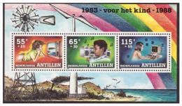 Antillen / Antilles 1988 Childwelfare Television Radio Computer S/S MNH - Curacao, Netherlands Antilles, Aruba