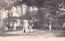 CPA VIET NAM - INDOCHINE @ COCHINCHINE - SAIGON - Militaires - 11° Colonial Le Jeu De Croquet - Sport Loisir - Vietnam