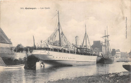 ¤¤  -  583   -  QUIMPER   -  Les Quais   -  Cargo Dans Le Port    -  ¤¤ - Quimper