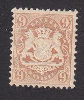 Bavaria, Scott #27, Mint Hinged, Coat Of Arms, Issued 1872 - Bavaria