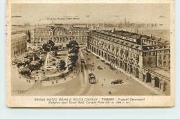 TORINO  - Grand Hotel Roma E Rocca Cavour. - Bars, Hotels & Restaurants