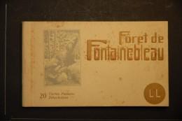 CP, 77, Foret De Fontainebleau LOT DE 20 CPA Foret De Fontainebleauedition LL - Fontainebleau