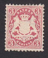 Bavaria, Scott #34, Mint Hinged, Coat Of Arms, Issued 1875 - Bavaria