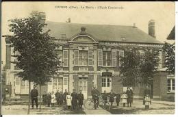 CPA COIVREL La Mairie, L'école Communale 10876 - France
