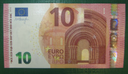 10 Euro S002D1 Italy Serie SF Draghi Perfect UNC - EURO