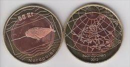 NORTH POLE, 50 Kr 2012 Norwegian, Whale, Bimetal, Fantasy Coinage - Monete & Banconote