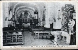 66 - ENVIRONS D'AMELIE LES BAINS, PALALDA? INTERIEUR DE L4EGLISE - Frankrijk