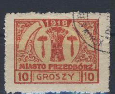 Polen Przedborz Michel No. 6 gestempelt used