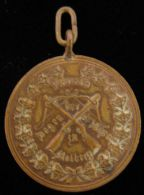 M01715 TIR - SCHOT SCHUSS - BOGEN der SCH�TZEN - 1899 - STOLBERG (13.3g) Armoiries au revers