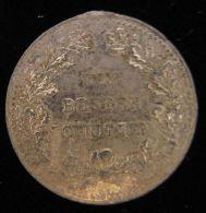 M01720 DEM BESTEN CHUTZEN Entouré De LAURIER (3.7g) ARMOIRIES  Au Revers - Jetons En Medailles