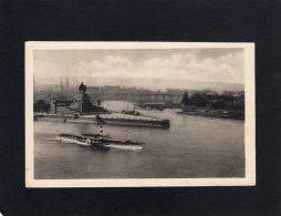 49195   Germania,  Der Rhein,  Coblenz,  Deitsches  Eck,  VGSB  1919 - Koblenz
