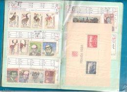 Carnet De TCHECOSLOVAQUIE,  - Cote  473,30  €uros - 9 Scans - Postzegels