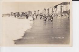 CPSM RIO DE JANEIRO BRASIL PLAGE DE COPACABANA 1950 ? NON CP - Copacabana