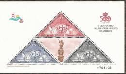 1992-ED.3163 H.B.-V CENTENARIO-NUEVO- - Blocs & Feuillets