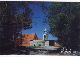 Ehden covent church, postcard Lebanon unused  , carte postale Liban