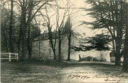 CPA 18 SENS BEAUJEU LE CHATEAU ET UN COIN DU PARC 1910 - Autres Communes