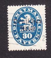 Bavaria, Scott #O56, Used, Lion Overprinted, Issued 1920 - Bavaria