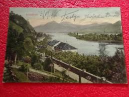Rheinland Pfalz Rolandseck Hotel Belle Vue 1906 - Braubach