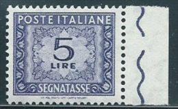 Italia 1955 Nuovo** - Segnatasse Stelle £ 5 - Segnatasse